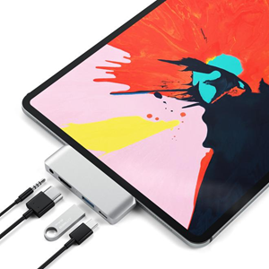 Satechi Launching USB-C Hub for New iPad Pro: 4K HDMI, Headphone Jack, USB-C With Power Delivery, and USB-A