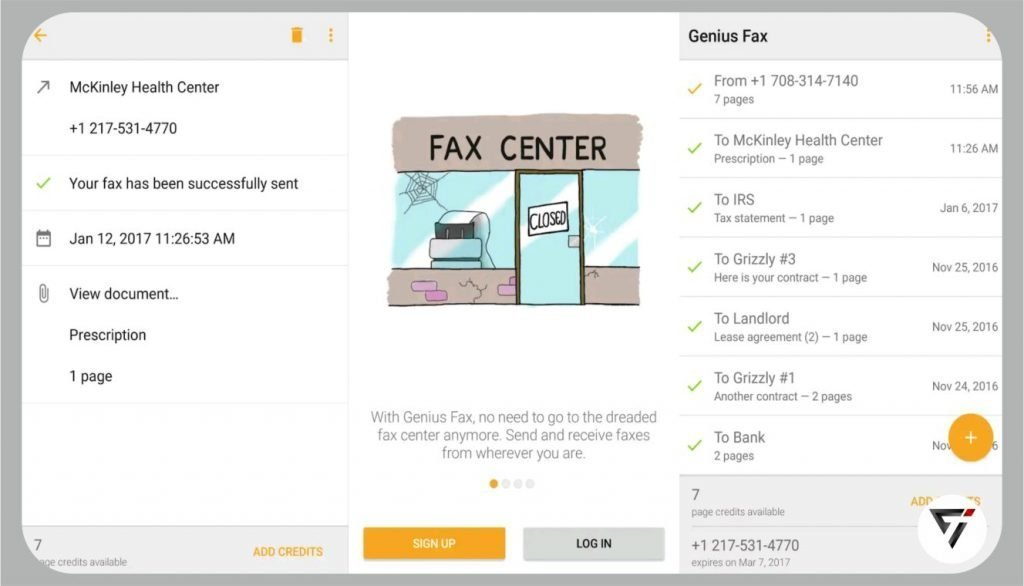 best free fax app for android