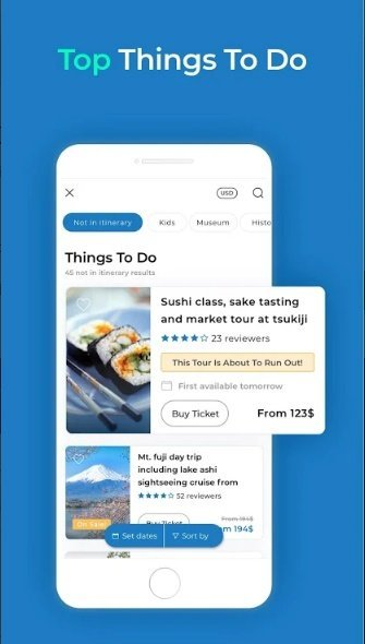 visit a city travel app