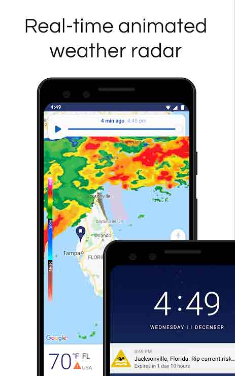 weather alert apps