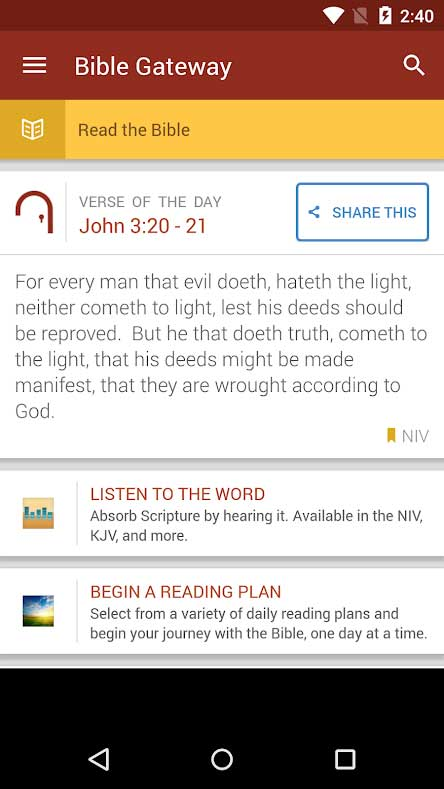 free bible study apps for android