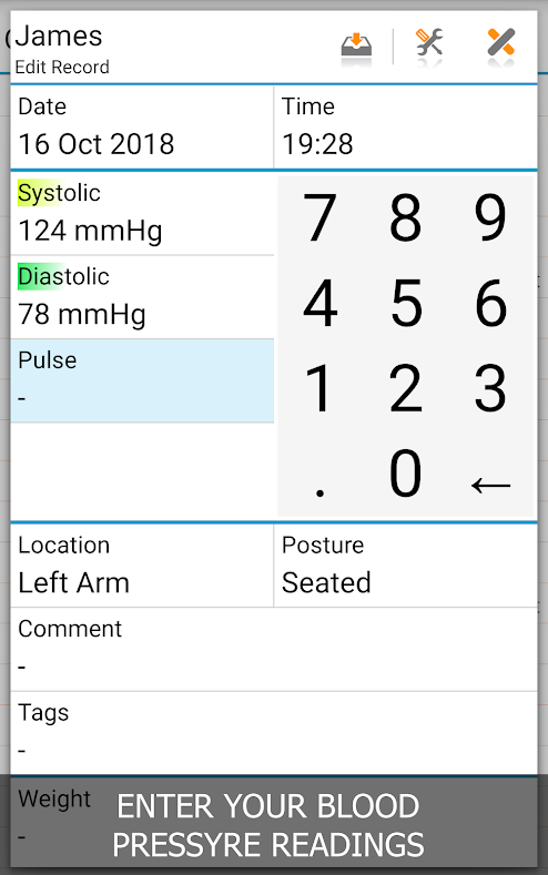 free blood pressure app for android