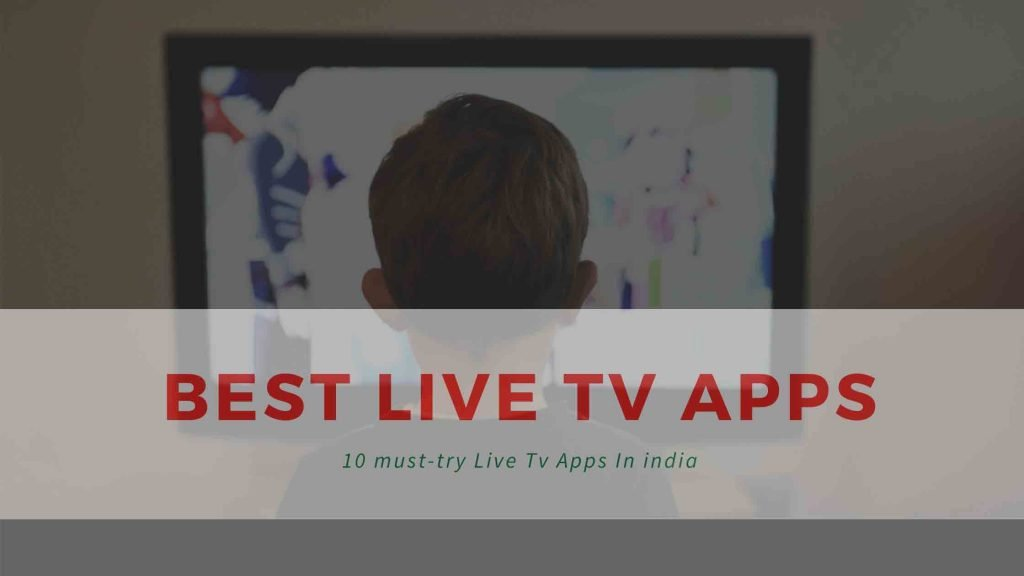 live tv apps in india