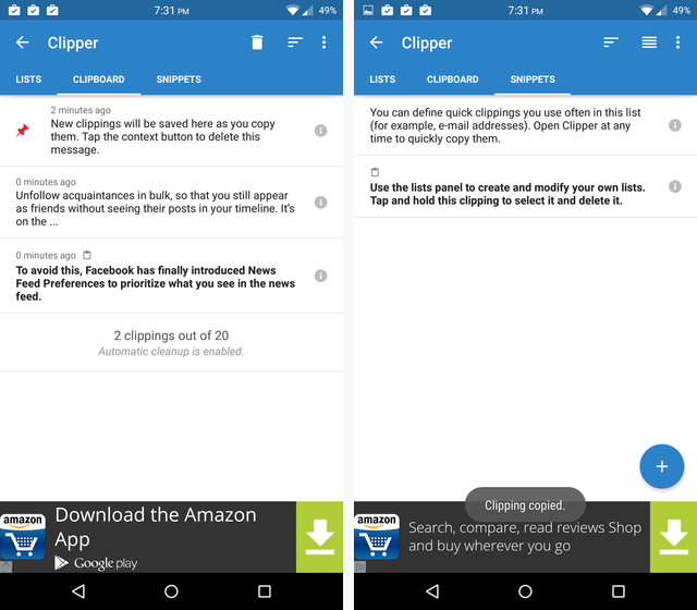 clear clipboard on android
