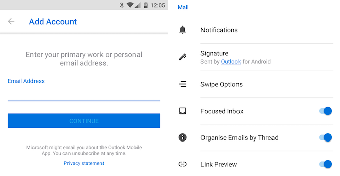 junkmail on android