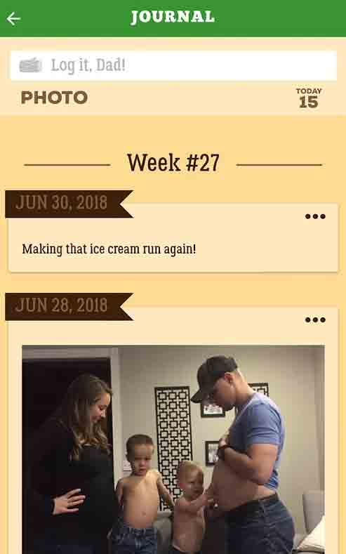 pregnancy apps for dads to be