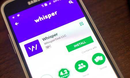 9 Best Apps Like Whisper to Confess and Connect with Other People