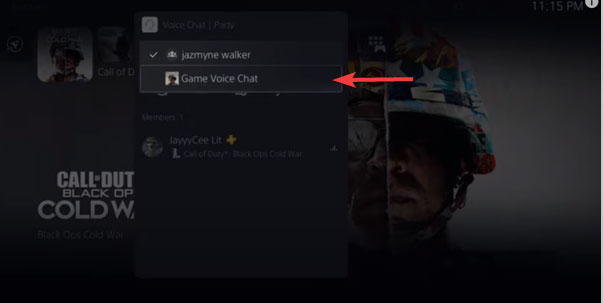 how to go to game chat on ps5 2022