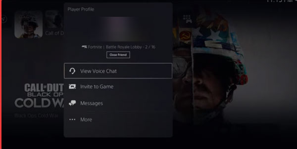 how to go to game chat on ps5 2021 2022