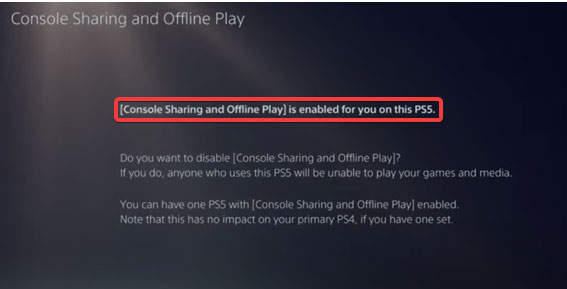 how to gameshare on ps5 2022