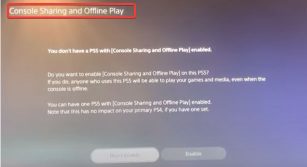 How To Set PS5 As a Primary Console